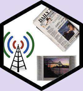 Реклама в СМИ (ТВ, радио, пресса) Запорожье - Рекламное агентство Вавилон